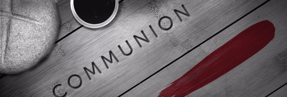 Communion Sunday Religious Web Banner